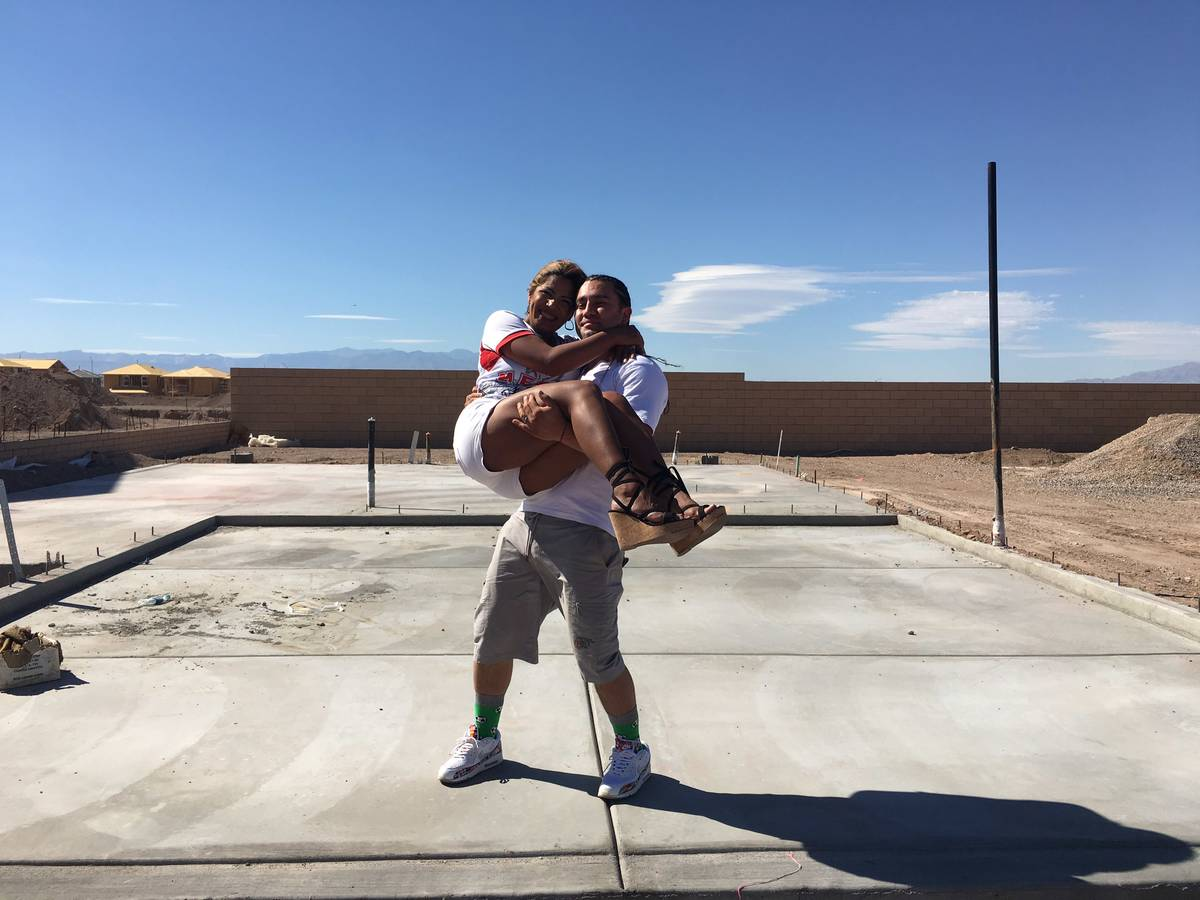 Araceli and Sebastian Gonzalez plan to start their family in their new home in Cadence, a maste ...