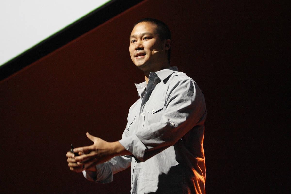 Tony Hsieh (Las Vegas Review-Journal)