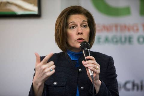 U.S. Sen. Catherine Cortez Masto. (Erik Verduzco/Las Vegas Review-Journal)