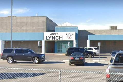 Lynch Elementary School, 4850 Kell Lane, Las Vegas (Google)