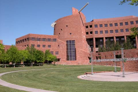 Clark County Government Center. (Las Vegas Review-Journal)