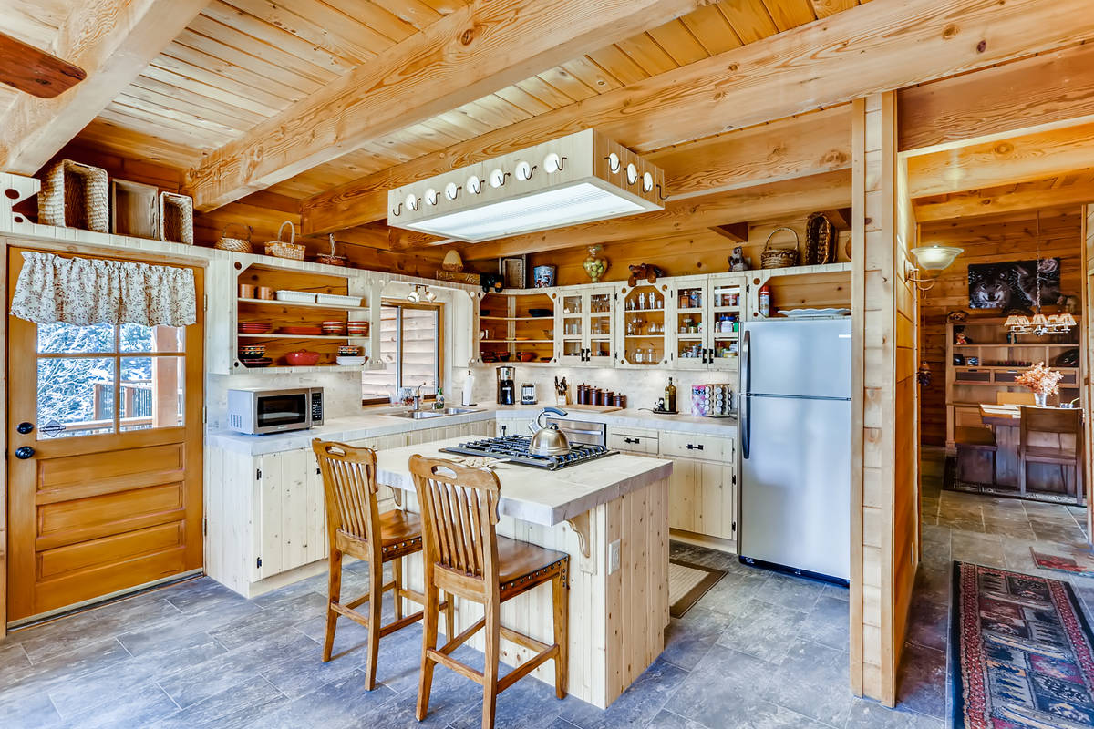 The kitchen of 351 Crestview Drive. (Virtuance)