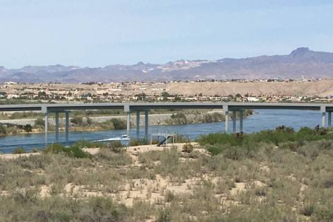 Artist's rendering of the planned bridge linking Laughlin and Bullhead City, Arizona.
