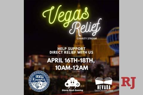 The Vegas Relief fundraiser raised more than $1,500. (Salvador Villa)