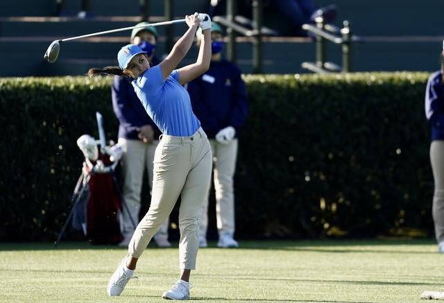 Reflection Bay's High Performance Golf Institute student Yana Wilson took the title in the gi ...
