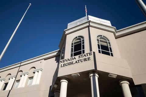The Nevada State Legislature Building. (Benjamin Hager/Las Vegas Review-Journal) @benjaminhphoto