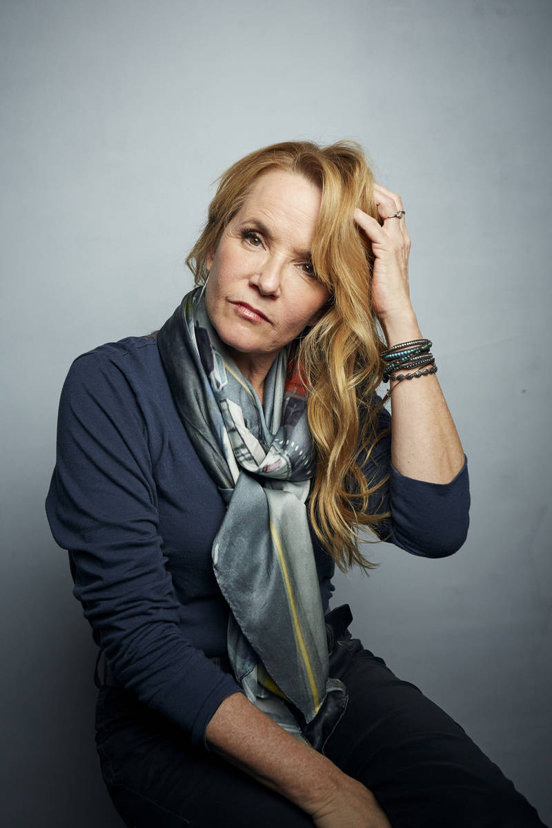 """Lea Thompson poses for a portrait to promote the film """"Dinner in America"""" at the Musi ..."""