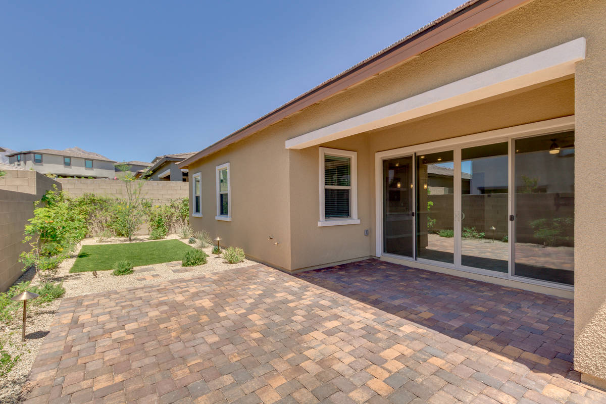 The patio area at 865 Haven Oaks Place in Summerlin. (Rocket Lister)