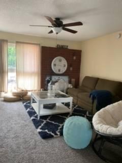 The living room at 11316 Balboa Blvd., Granada Hills, Calif. (Susan Choquette)