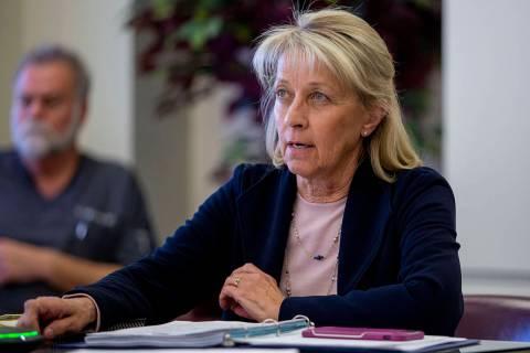 Nevada Secretary of State Barbara Cegavske. (Las Vegas Review-Journal)