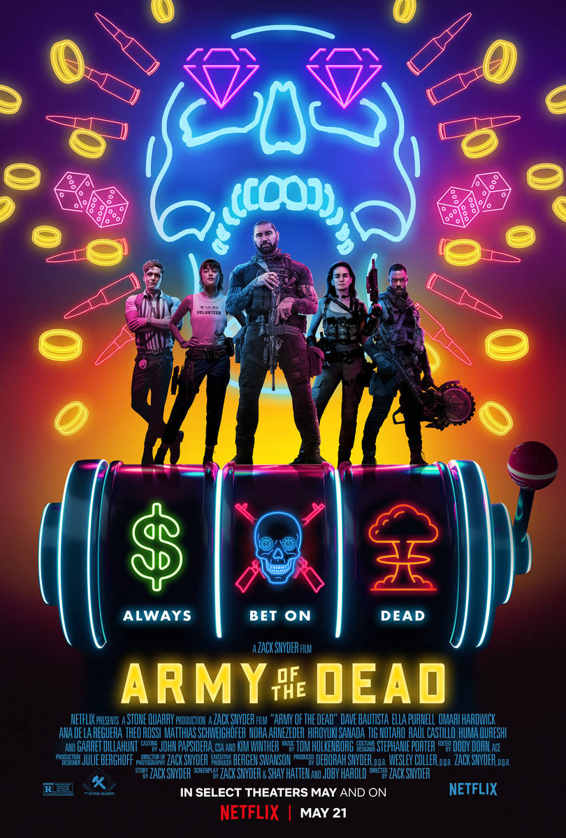 A team of mercenaries tries to rob a Las Vegas casino after the Strip has been overrun by zombi ...