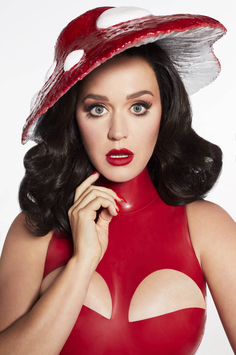 """Katy Perry's """"Play"""" is set for eight shows Dec. 29, 31, 2021 and Jan. 1, 7-8, 12, 14-15 at The ..."""