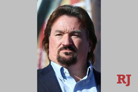 Michael McDonald, chairman of the Nevada Republican Party. (Erik Verduzco / Las Vegas Review-J ...