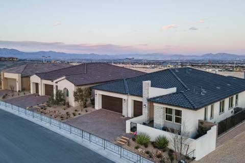 Savannah is one of four neighborhoods by Taylor Morrison offered in Summerlin. It is an all sin ...