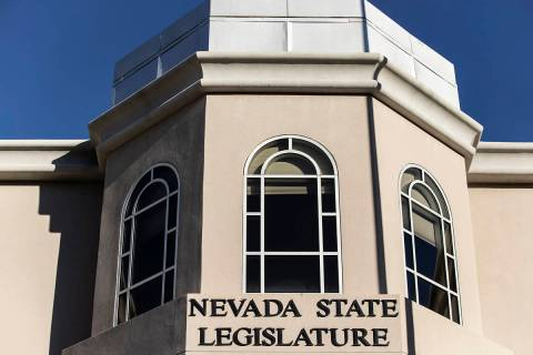 The Nevada State Legislature Building. (Benjamin Hager/Las Vegas Review-Journal)