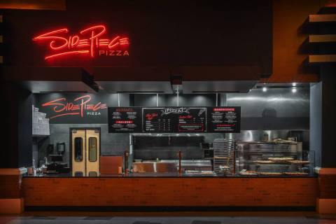 Side Piece Pizza is now serving at Red Rock Resort. (Anthony Mair)