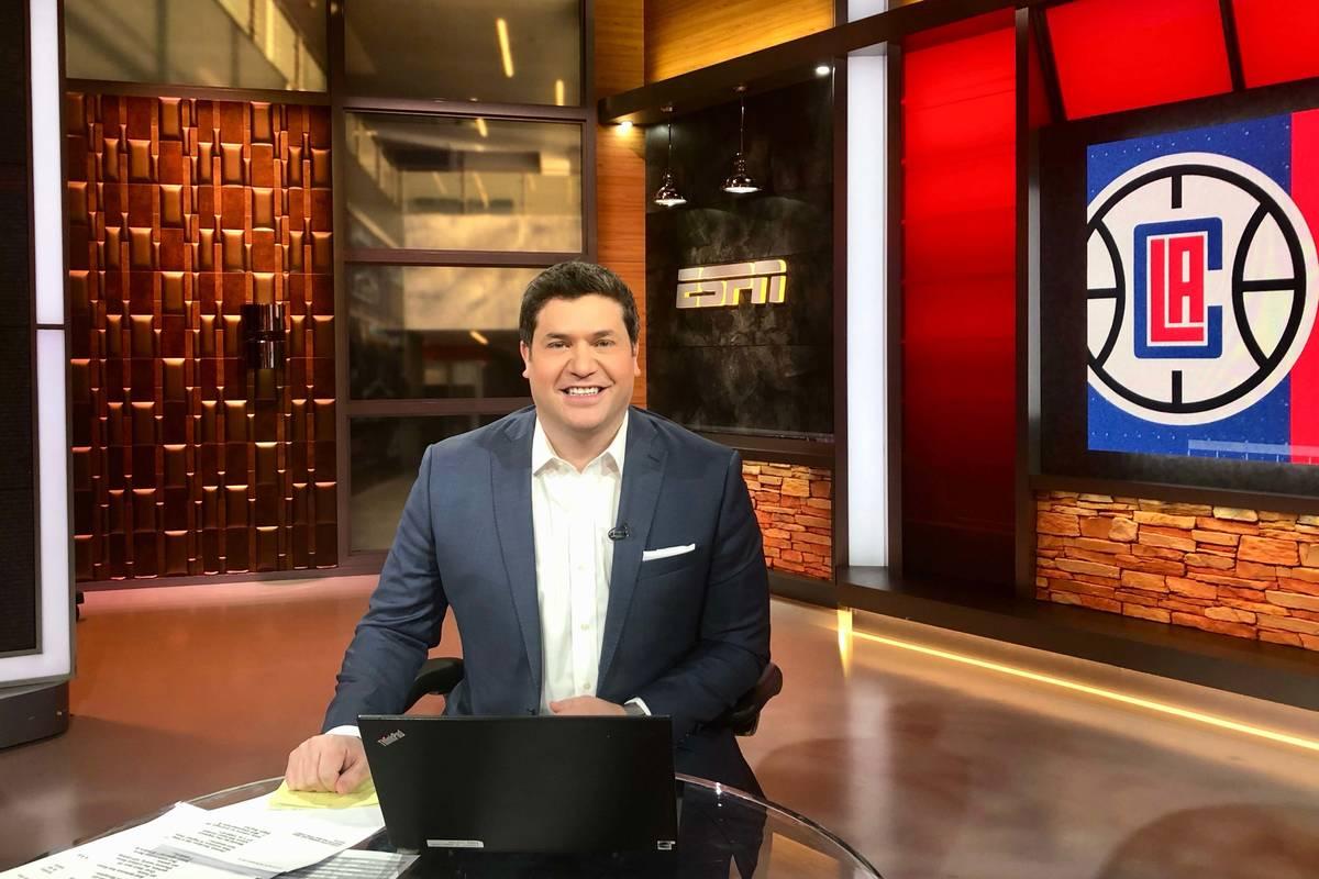 Doug Kezirian. Courtesy of ESPN.