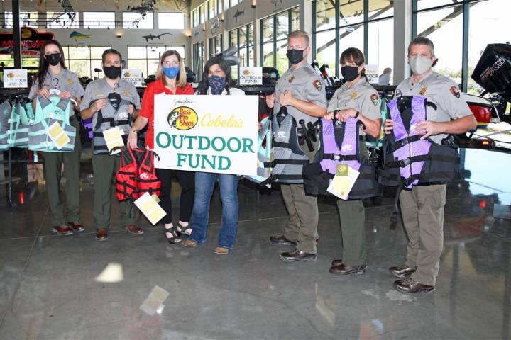 Bass Pro Shops and the Cabela's Outdoor Fund presented the National Park Service and the Get ...