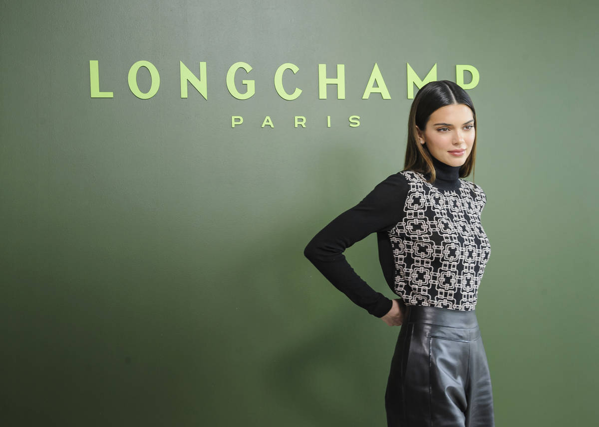 Kendall Jenner attends NYFW Fall/Winter 2020 - Longchamp at Hudson Commons on Saturday, Feb. 8, ...
