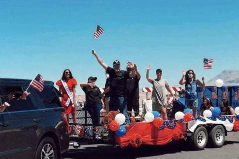 For a $5 donation to the Kline Veterans Fund, families can register for a spot in the car parad ...