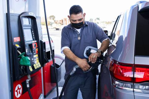 Gasoline prices have risen more than 50% from the same time a year earlier in mid-April. (Bizua ...