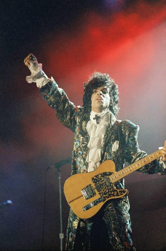 Oscar-winning rock singer Prince. (The Associated Press)