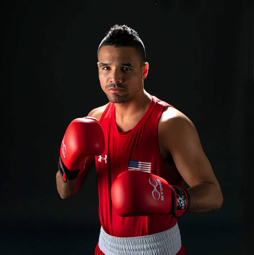 Rahim Gonzales trains to qualify for the U.S. Olympic team at the 2021 Games in Tokyo. (Bizuaye ...