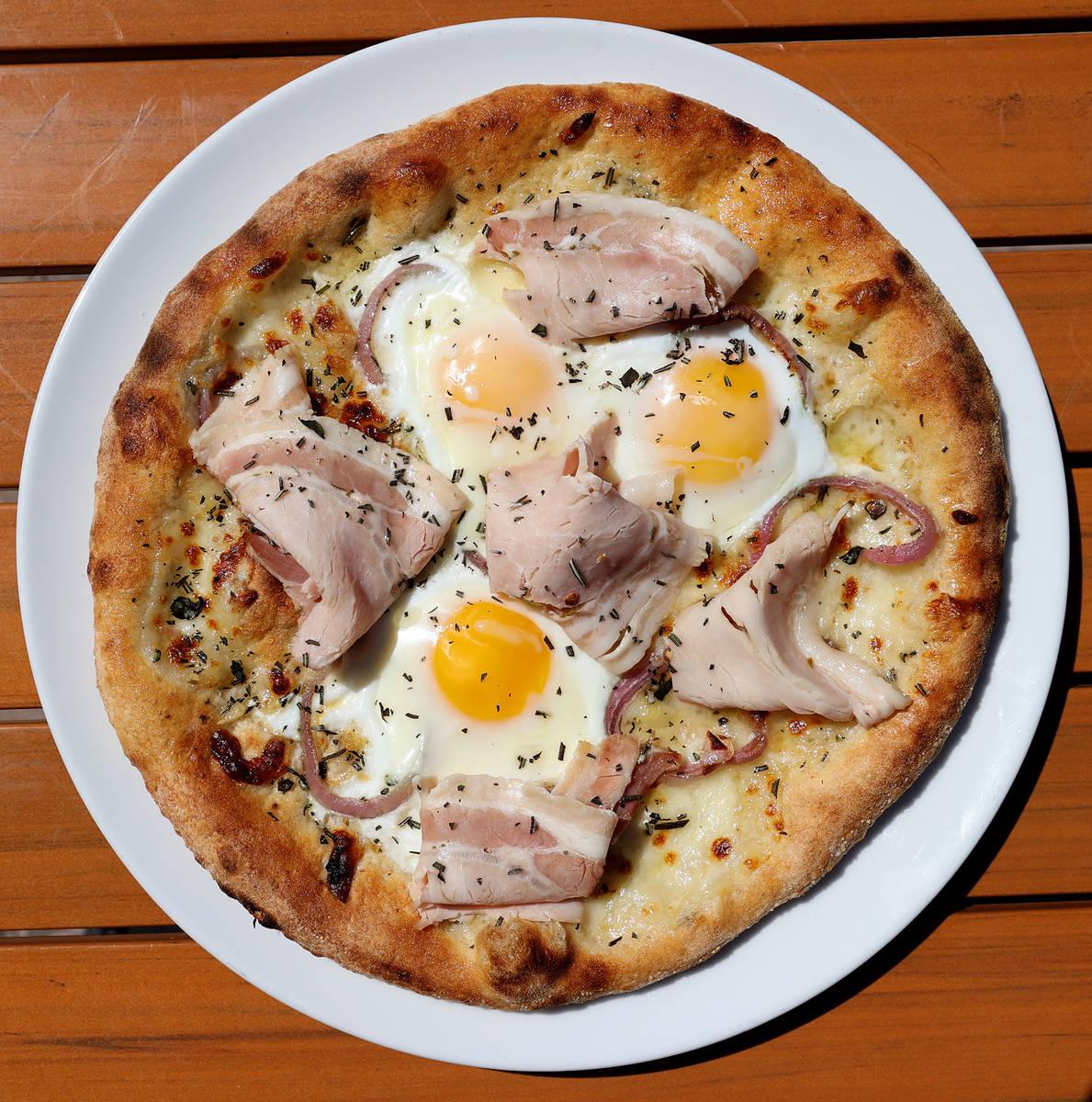 Breakfast Pizza (K.M. Cannon)