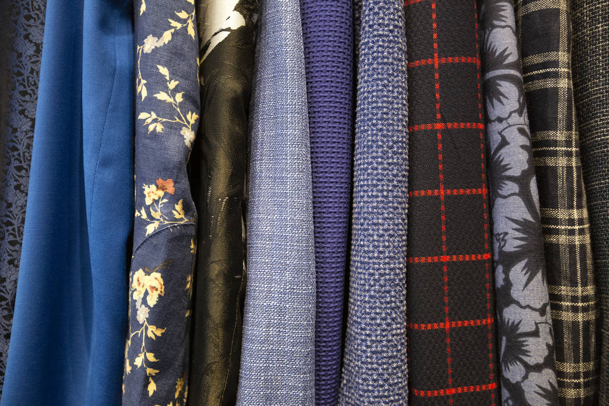 Funky prints are available in addition to classic menswear options at the Stitched pop-up store ...