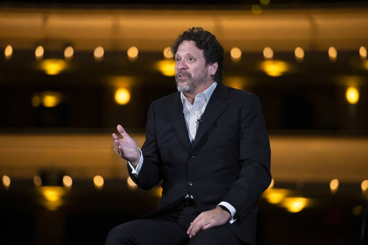 Donato Cabrera, music director of the Las Vegas Philharmonic, talks about the 2021-22 season op ...