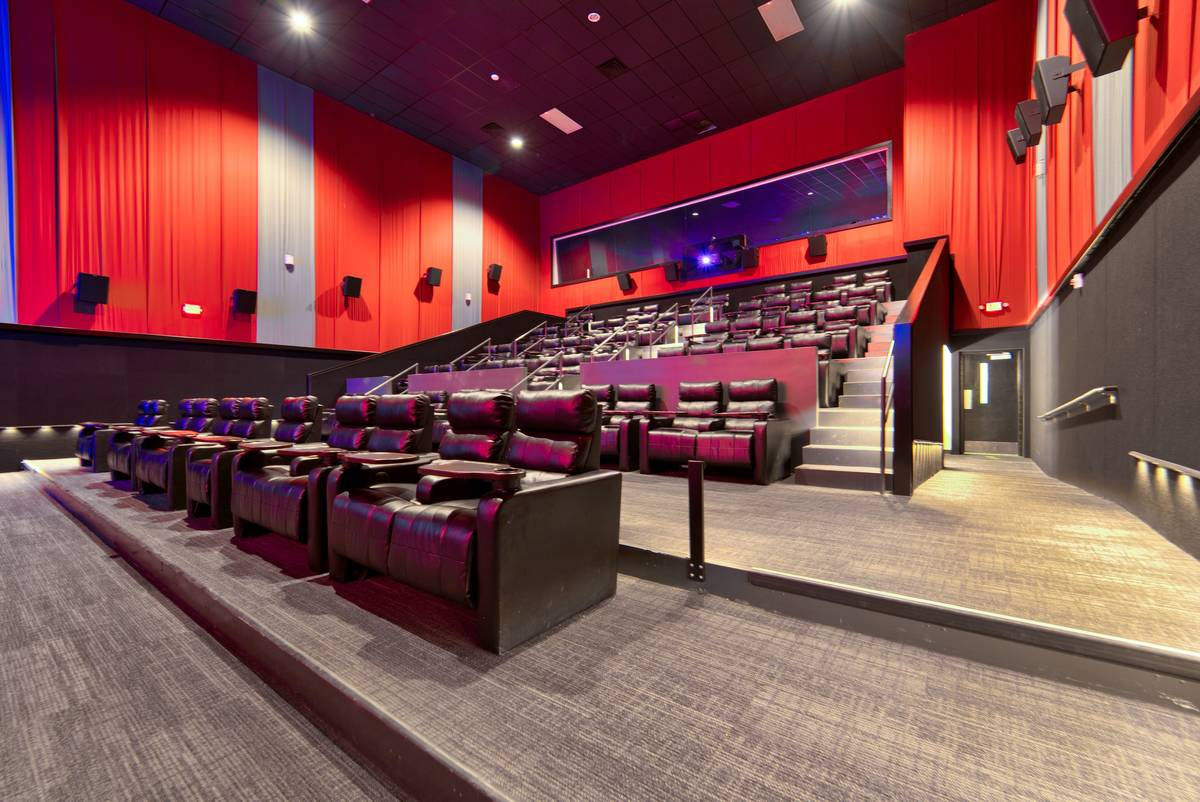 A screening room at At Houz Theaters. (Art Houz Theaters)