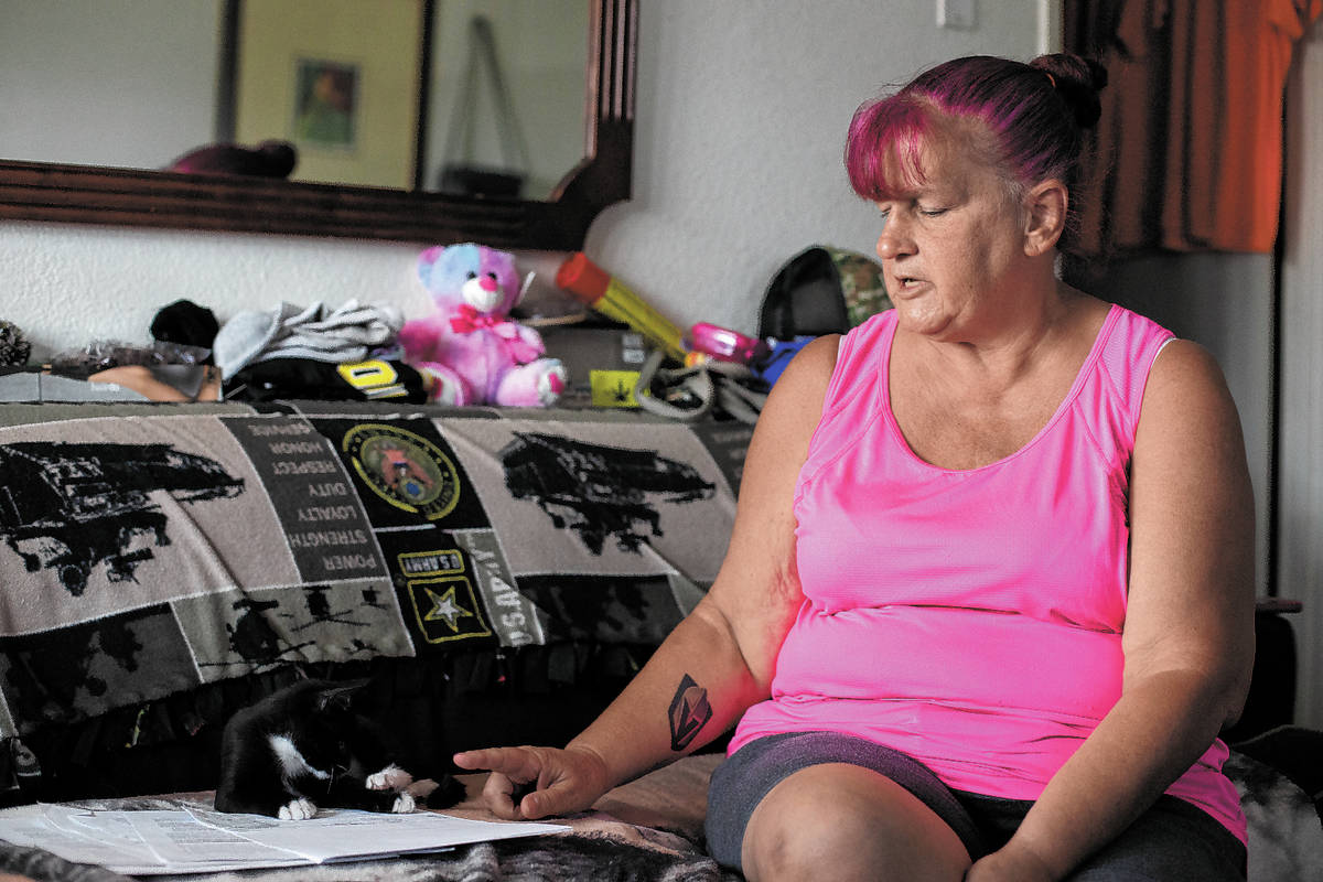 Nancy Williams describes how Siegel Suites served her multiple no-cause eviction notices throug ...
