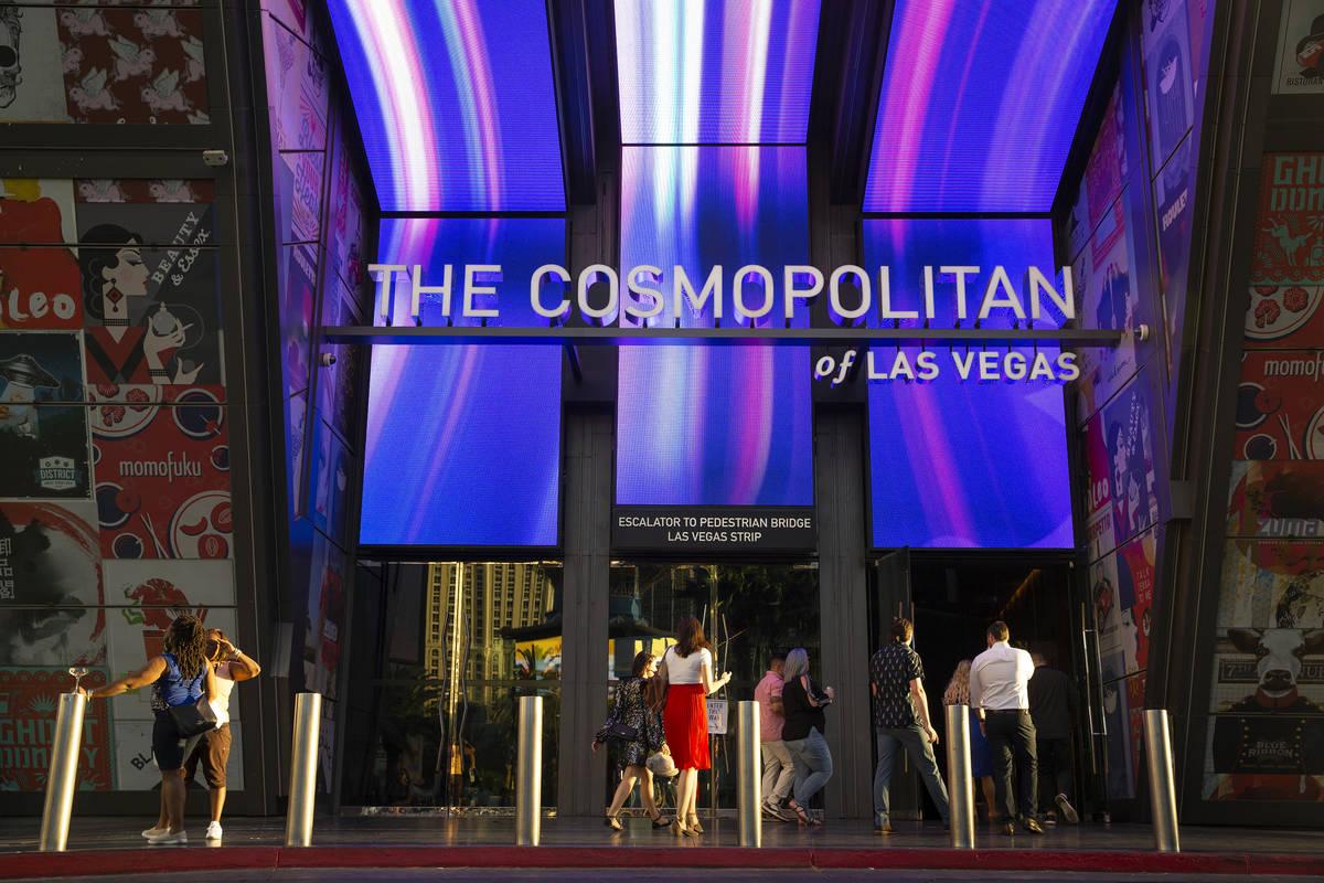 The Cosmopolitan of Las Vegas on Wednesday, June 9, 2021 in Las Vegas. The Las Vegas Strip prop ...