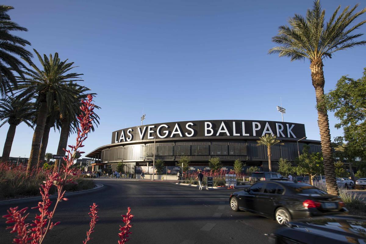 Las Vegas Ballpark seen on May 11, 2021. (Ellen Schmidt/Las Vegas Review-Journal) @ellenschmidttt