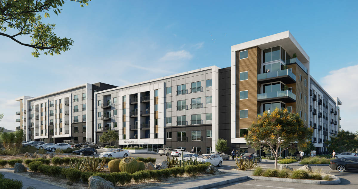 Summerlin developer Howard Hughes Corp. broke ground on the second phase of the luxury Tanager ...