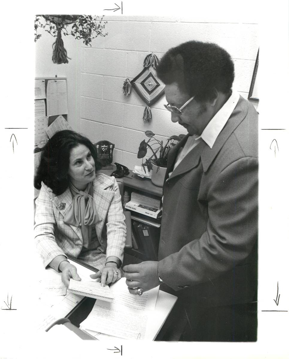 Educator Lilliam Lujan Hickey was the first Hispanic woman in Nevada elected to the State Board ...