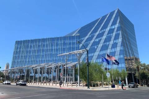 Las Vegas City Hall. (Las Vegas Review-Journal)