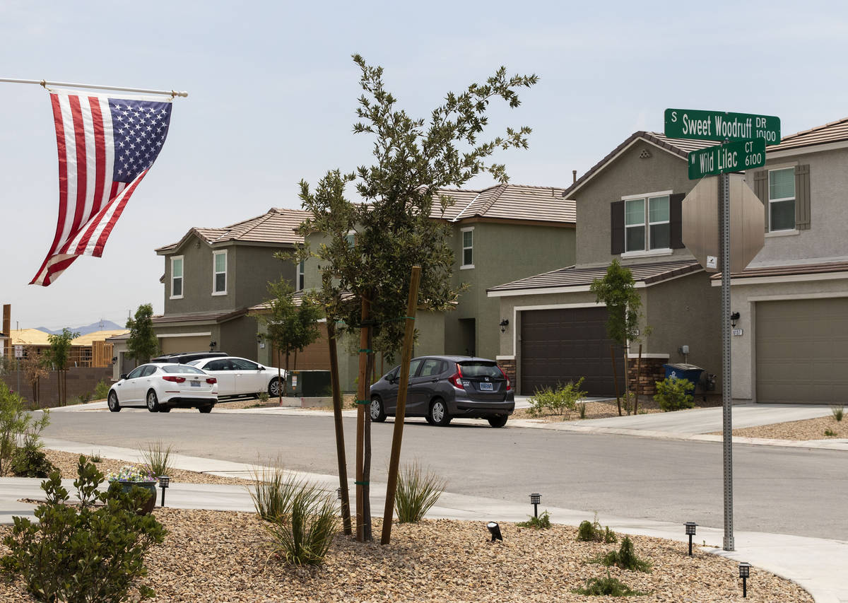 Rental houses owned by American Homes For Rent are shown at the Southwest corner of Pyle Avenue ...