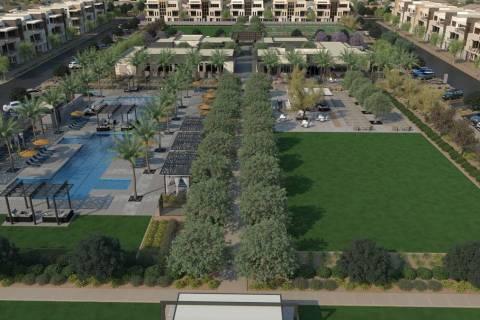 Trilogy Sunstone in northwest Las Vegas has broken ground on its new resort club, Cabochon Club ...