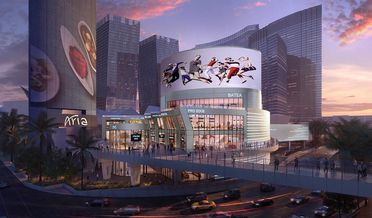Las Vegas developer Brett Torino and New York-based Flag Luxury Group plan to develop a retail ...