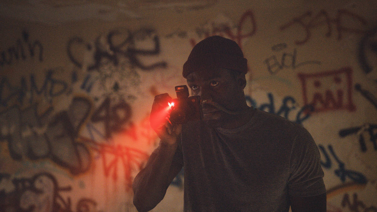 Yahya Abdul-Mateen II as Anthony McCoy in Candyman, directed by Nia DaCosta. (Universal Picture ...