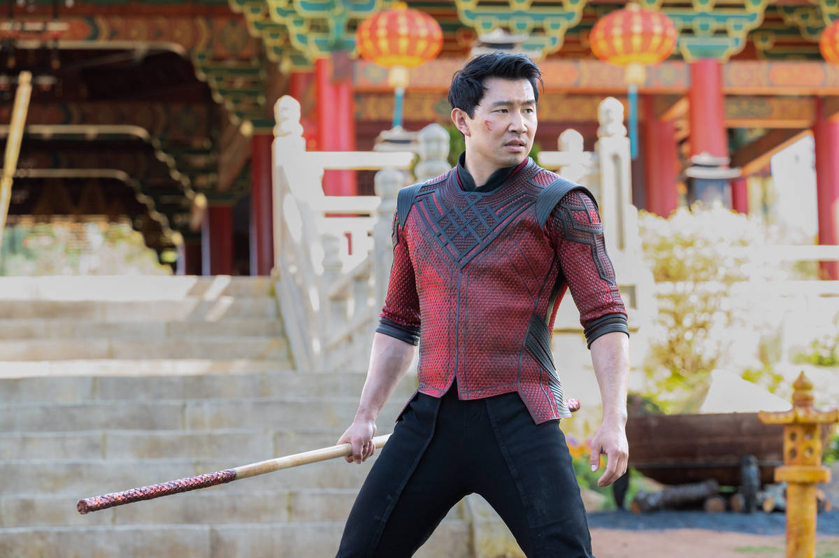 Shang-Chi (Simu Liu) in Marvel Studios' SHANG-CHI AND THE LEGEND OF THE TEN RINGS. Photo by Jas ...