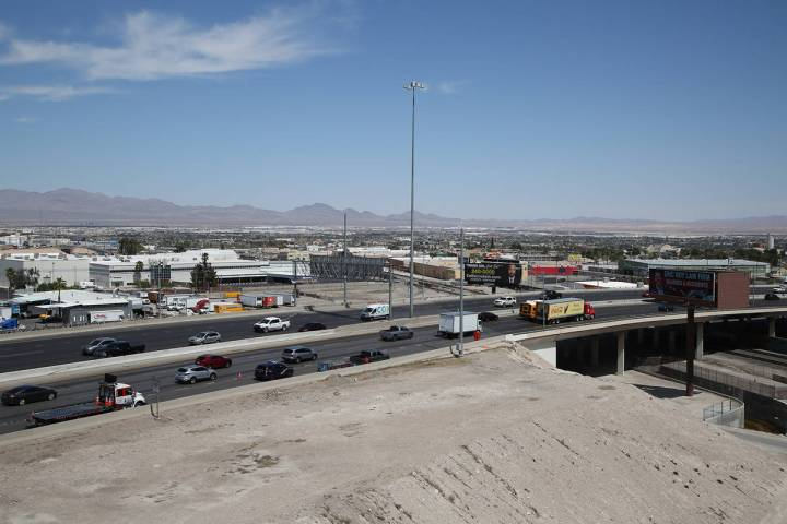 The stretch of U.S. 95 between the Spaghetti Bowl and Eastern Avenue will be reduced to two tra ...