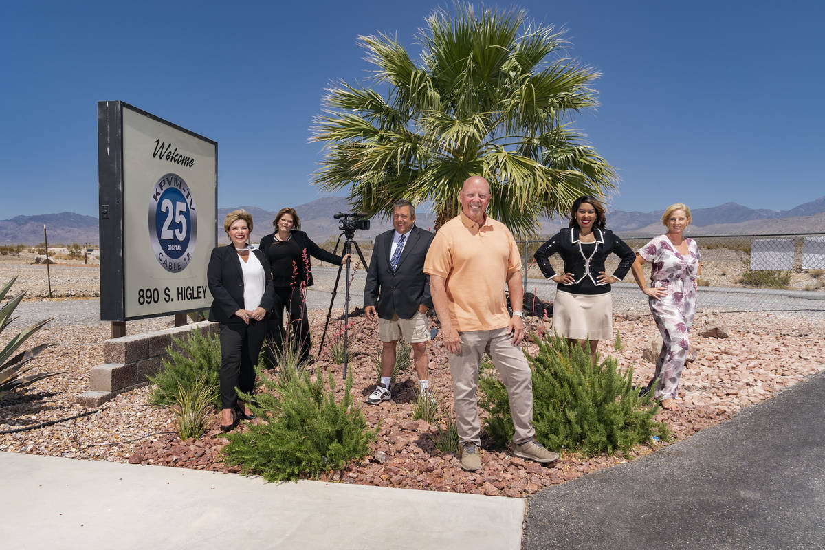 The owners and on-air talent of a Pahrump TV station are headed to HBO in the six-part document ...
