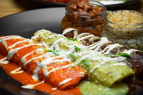A selection of food from El Luchador Mexican Kitchen & Cantina. (El Luchador)