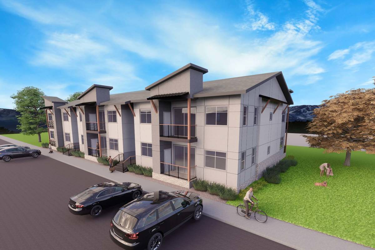 Kingsbarn Capital & Development plans to build a 140-unit apartment complex in Carson City. A r ...