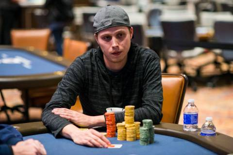 Ian Steinman, shown in an undated file photo, won Event 27 of the World Series of Poker Online ...