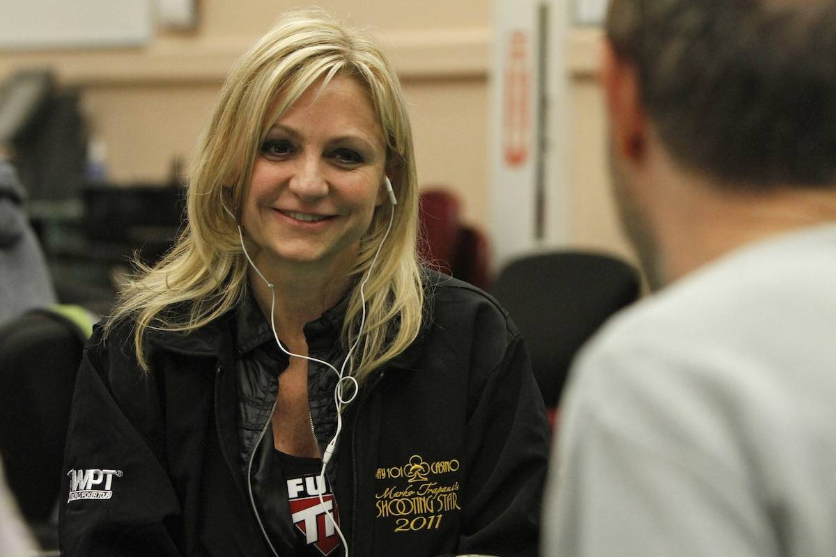 Jennifer Harman plays in a World Poker Tour event in an undated photo. (World Poker Tour)