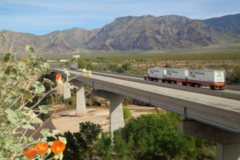 A $56 million replacement of Virgin River Bridge No. 1 along Interstate 15 is set to begin Mond ...