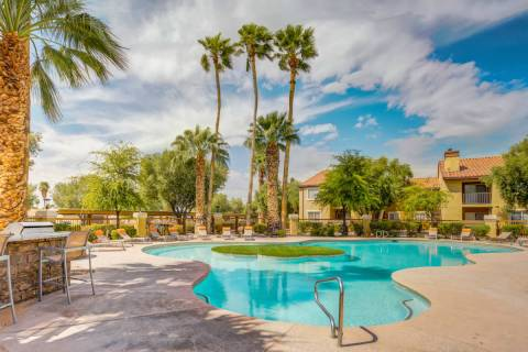 The Bascom Group acquired Spectra East, a Las Vegas apartment complex seen here, as part of a t ...